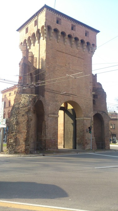Porta San Felice leads to the airport