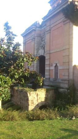 Porta Galliera is a complex fortress structure