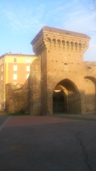 Porta San Donato in the golden hour ;)
