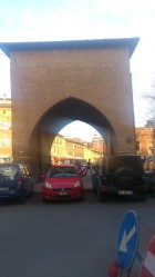 Porta San Vitale was perhaps the hardest working gateway to the city